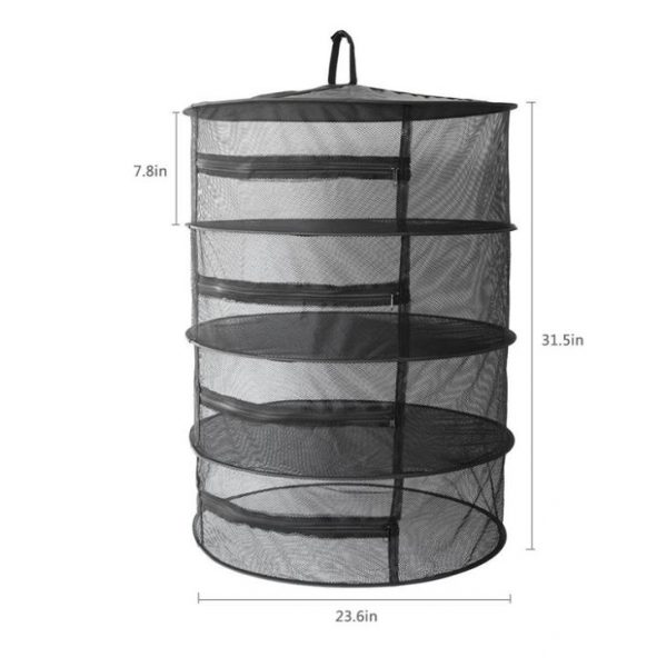 4 6 8 Layer Drying Net With Zipper