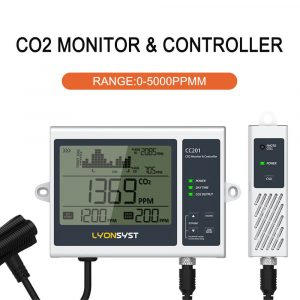 Chin-Up Hydroponics Programmable CO2 Controller